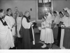 Bow Arrow Hospital. Confirmation Service, March 1951 by the Rev Chevasse, Bishop of Rochester.