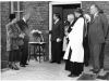 Bow Arrow. The naming of Calvey Ward opened by Mr Hilary Marquand, Minister for Health. Dr and Mrs Calvey on left.June 1950