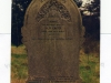 A stone from the oldest cemetery at Darenth, which contains many thousands of smallpox graves. Annie Eager was a member of staff and her stone erected by the Metropolitan Asylums Board.