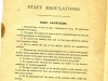 Staff regulations 1909