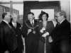 1950. Joyce Green Hospital. BMA Kent Branch meeting. Dr Mitman, Mr Parry, Mayor and Mayoress Firmin, Dr Hill (BMA)