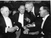1951. Dartford Hospital Management Committee Group Ball, Crayford Town Hall. Mr Parry, Mr Durrant, Dr Henderson, Mr Warburton
