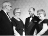 1962. Presentation by Mr Kekwick to Mrs Flora Welch on her retirement.