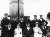 Staff and crew of Geneva Cross. c.1902