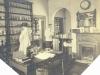 Pharmacy c.1920. Dispenser Miss Yates, Porter George May