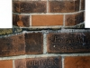 Names of French soldiers carved on the wall of 11a (the Netherlands Hospital) during WW2