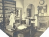 Pharmacy c.1920. Dispenser Miss Yates, Porter George May