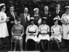 1967. Standing Mr Chesmore, Miss Costello, T Constable, Mr Kekwick, Miss Couzins, Mr C A Joyce, Michael Freyre, unknown, Miss Bredo. Seated Miss Simmonds, unknown, unknown, unknown.