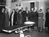 December 1955.Opening of the new operating theatre.