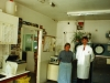 Last week of West Hill Path Lab 1997. Christina Green and David.