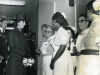 Opening of A&E. Mayor Albert May, Princess Anne, Nina Martin, Nurse Bertha Richards,  Sister Logan, Nurse E Frost
